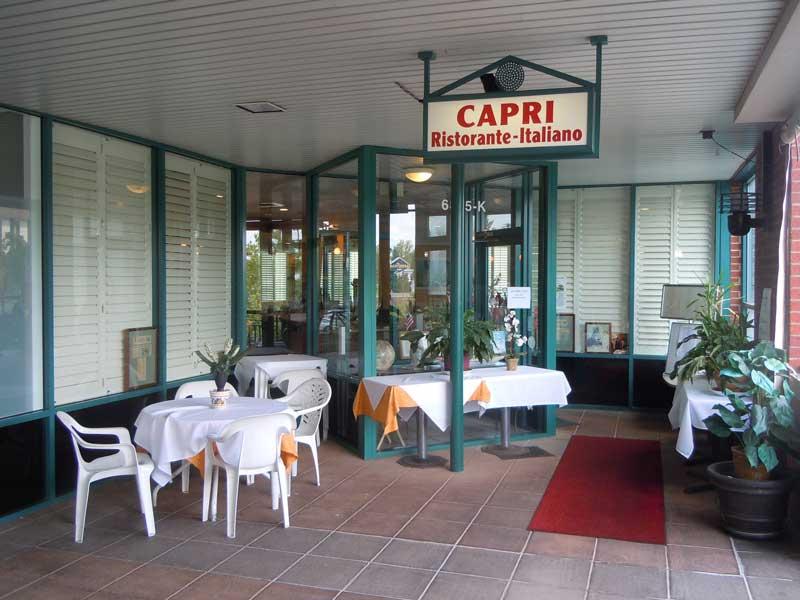 Capri Ristorante Italiano front door 1 1